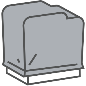 Protective covers Icon