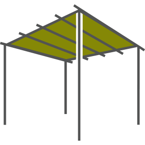 Pergolas Icon Active
