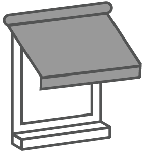 Fensterbeschattung Icon