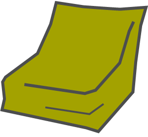 Beanbags Icon Active