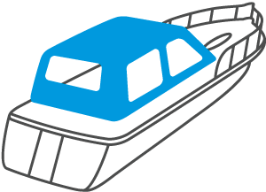 Bootsverdeck Icon Active