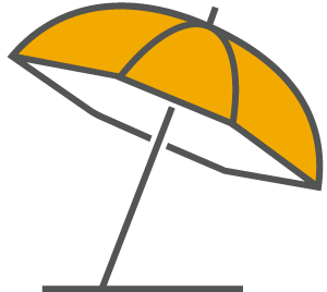 Parasol Icon Active