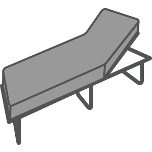 Sunloungers Icon