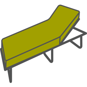 Sunloungers Icon Active